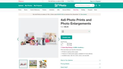 Walgreens Photo Center review