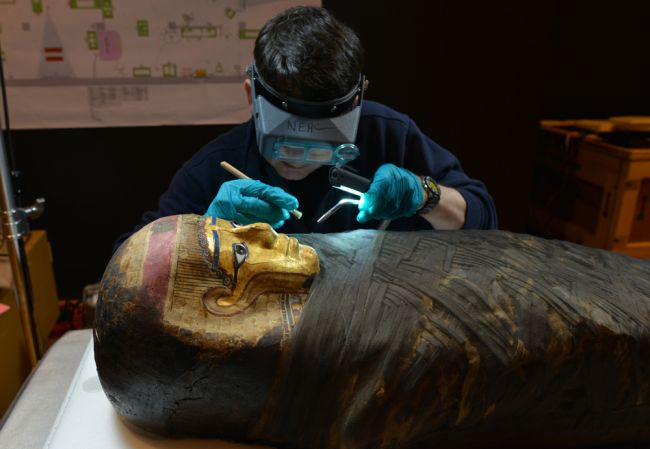 mummies exhibit
