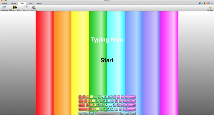 KeyBlaze Typing Tutor Review | Top Ten Reviews
