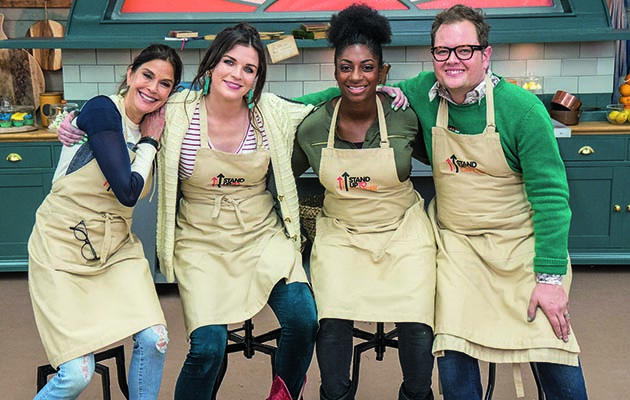 The final four celebrities tie on their aprons and enter the iconic Bake Off tent to put their mixing, measuring and making skills to the test.