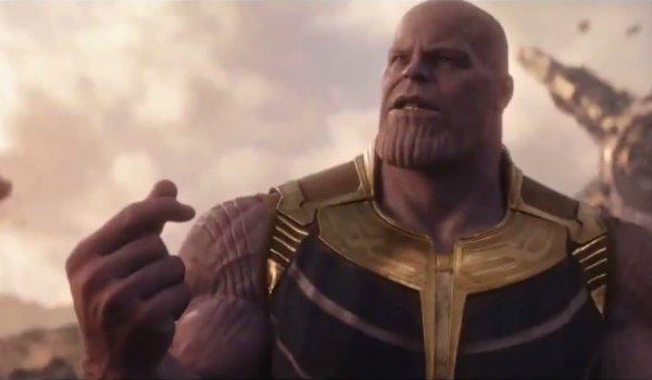 Thanos finger snap