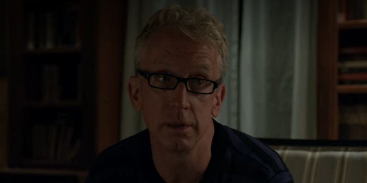 andy dick talking to gillian jacobs on netflix's love