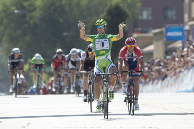 Peter Sagan wins Amgen Tour of California, Stage 7