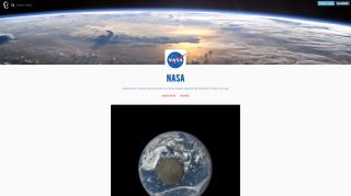 NASA's Tumblr Profile