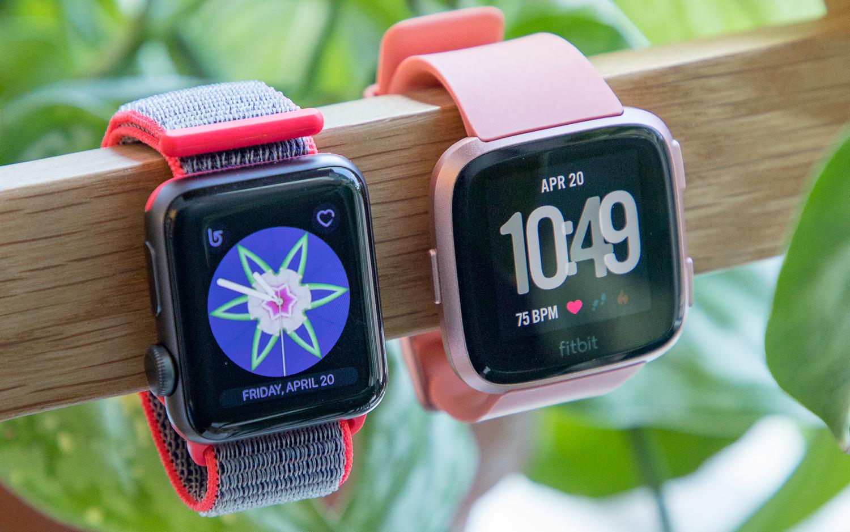 Fitbit Versa vs. Apple Watch: Which Smartwatch Wins? | Tom's Guide