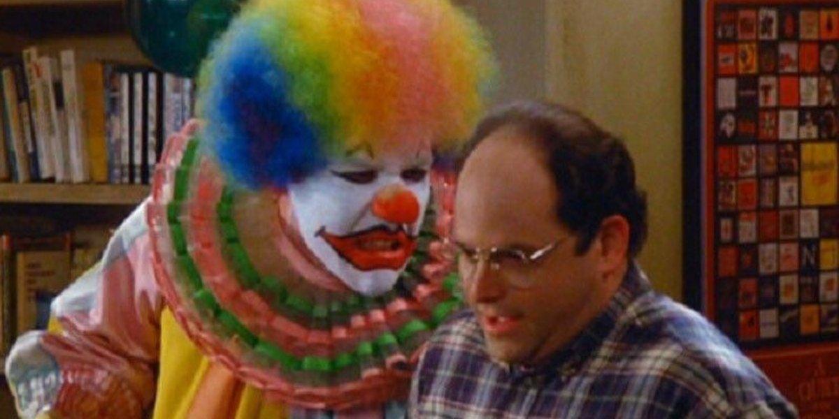 Jon Favreau and Jason Alexander on Seinfeld