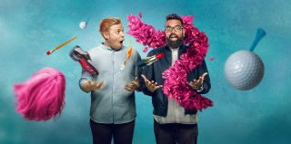 Rob Beckett and Romesh Ranganathan in series three of Rob and Romesh Vs