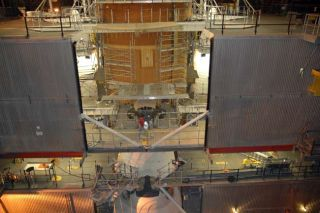 Repair Efforts Continue on Atlantis Shuttle's Dinged Fuel Tank