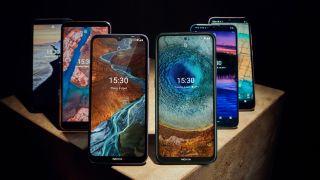 Einige der neuen Nokia-Handys