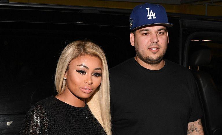 Blac Chyna and Rob Kardashian at Onyx Nightclub on March 27, 2016 in Atlanta, Georgia