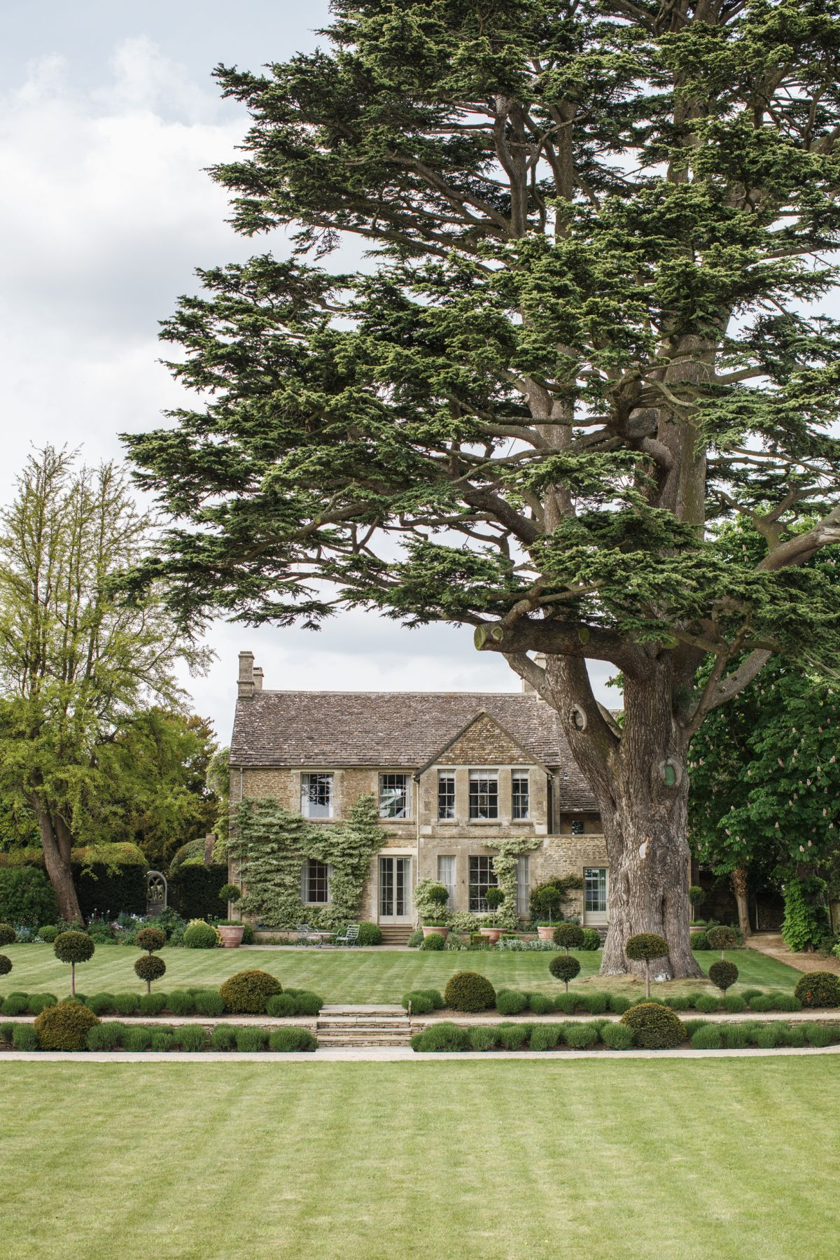 This stunning Cotswold manor and farm offers a stylish staycation with a difference