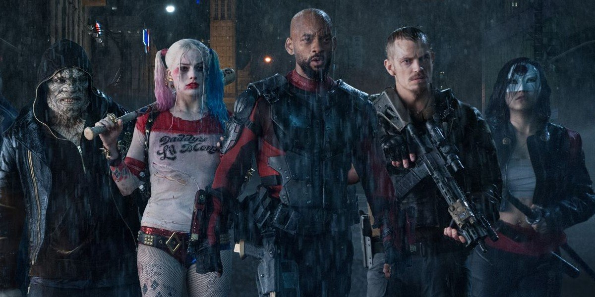 The cast of Suicide Squad (2016)