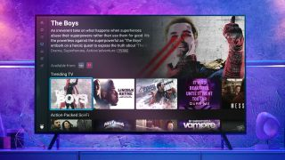 The user interface for the TiVo Stream 4K