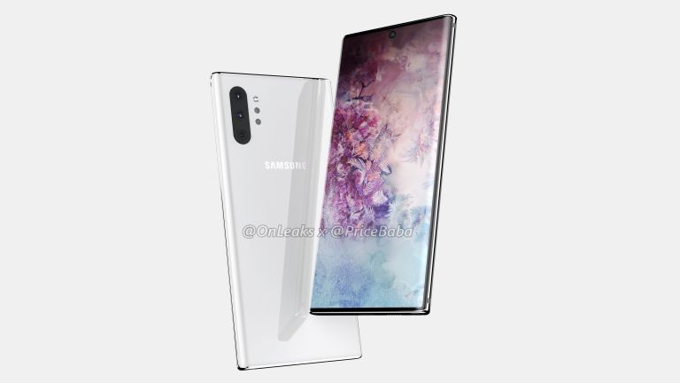 Samsung Galaxy Note 10's aggressively curved screen design revealed
