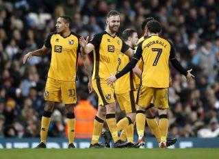 Manchester City v Port Vale – FA Cup – Third Round – Etihad Stadium