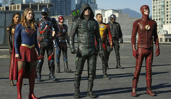 Legends of tomorrow arrow The Flash supergirl