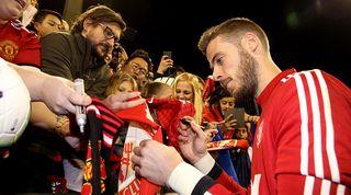 De Gea captain Manchester United