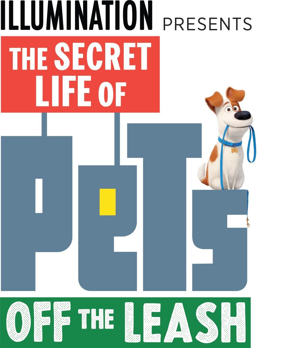 Secret Life of Pets Off the leash logo