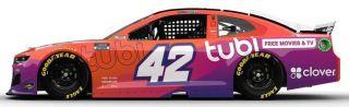 Tubi's NASCAR ... car.