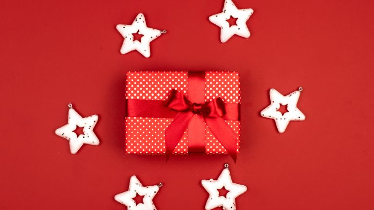 Personalised gifts: Present wrapped