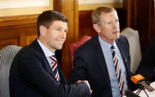 Rangers Press Conference – Ibrox Stadium