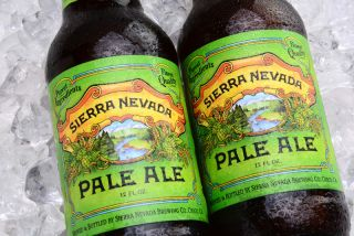 Two bottles of Sierra Nevada Pale Ale.