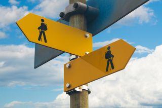 walk signposts