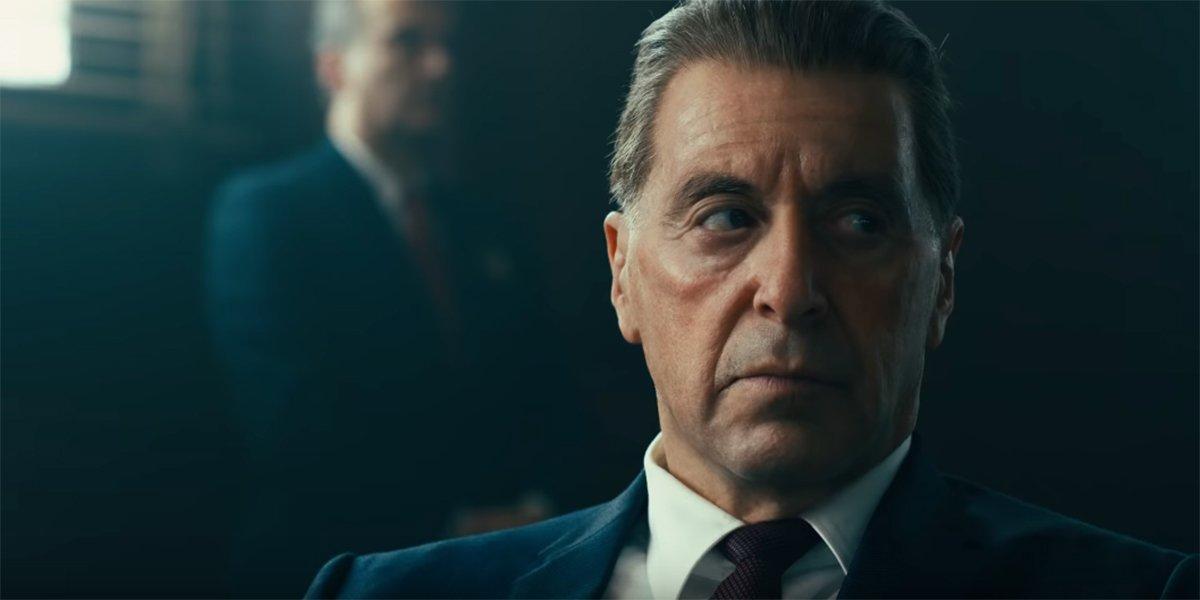 Al Pacino's Jimmy Hoffa in The Irishman