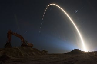 Atlas V Rocket Lifts Off with TDRS-L Spacecraft