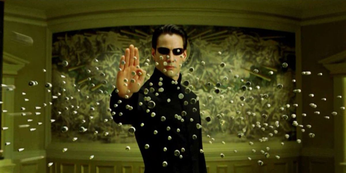 Keanu Reeves in The Matrix Revolutions