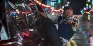 Klaue chase scene in Black Panther