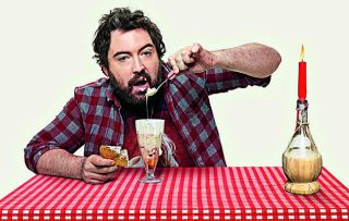 Stand-up/actor Nick Helm on a sort of foodie journey – eating here, interviewing chefs and the odd celebrity there, and then also trying to fix a relationship with a girlfriend who's gone cool on him.