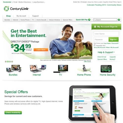 CenturyLink Internet Service Provider Review - Pros and Cons | Top