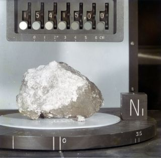Water found in Apollo 15 moon rock called the Genesis Rock, thought to be part of the moon's primordial crust.