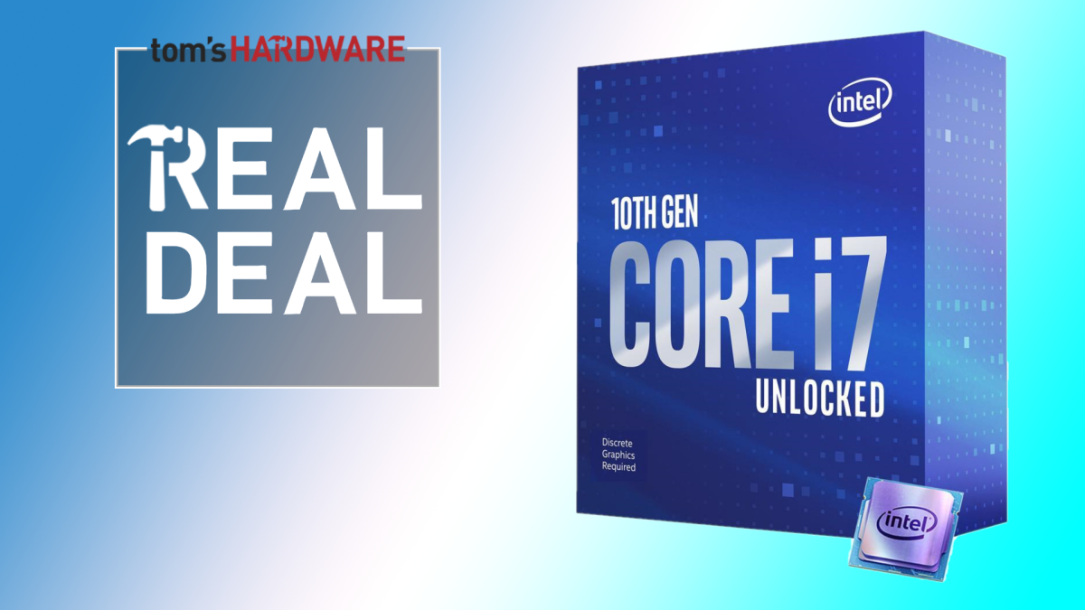 Intel Core i7-10700KF Gets Even Cheaper: Solid Gaming for 9