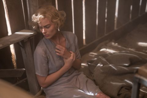 Margot Robbie plays the beautiful but dangerous fugitive Allison Wells in 'Dreamland.'