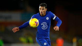 Chelsea player Thiago Silva