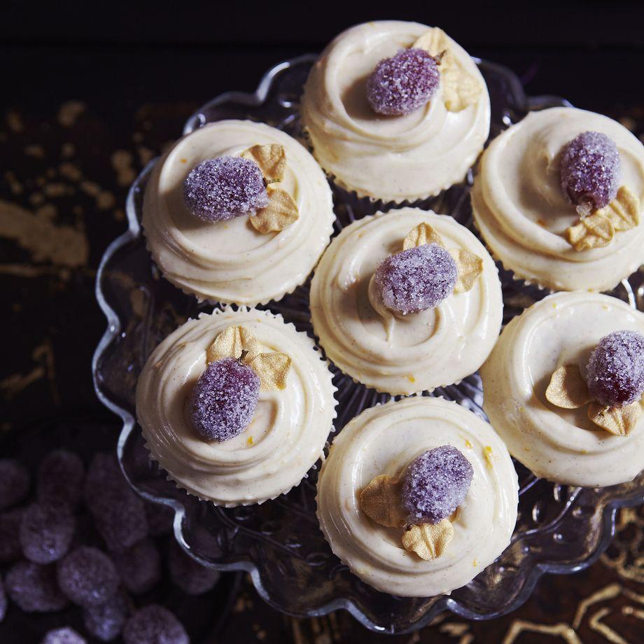 Mulled Wine Cupcakes Recipe