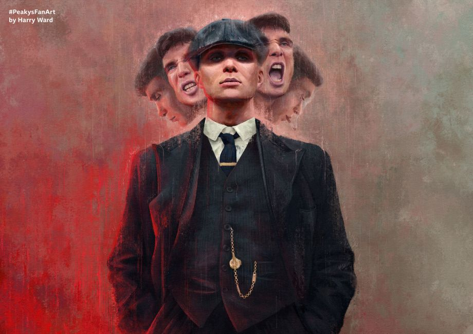 Watch out for Peaky Blinders fan art featuring Cillian Murphy and co!