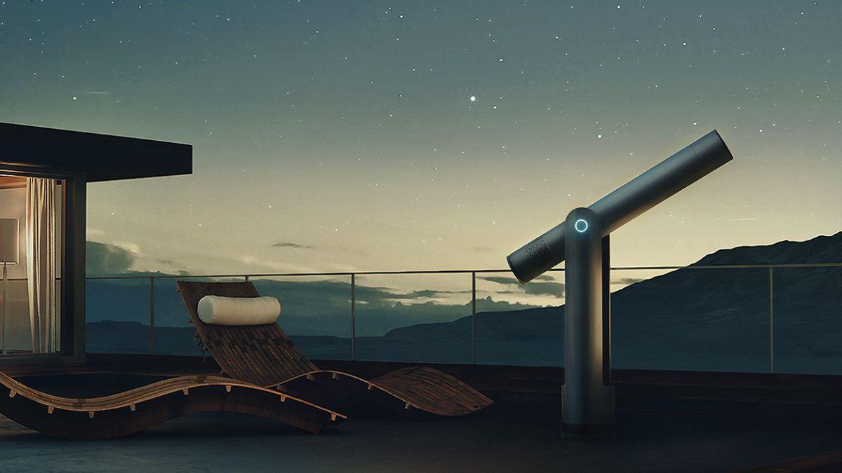 61-megapixel Vaonis Hyperia telescope is like having a Hubble in your back garden