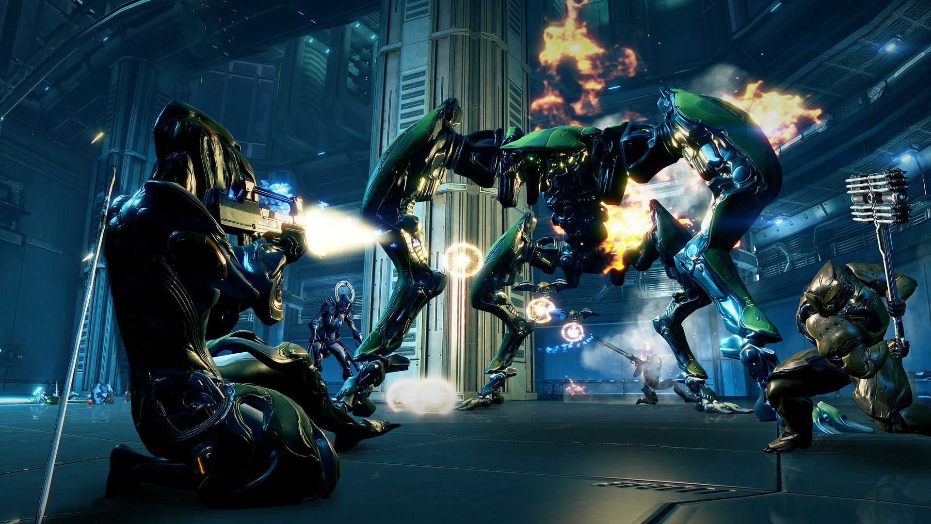 How to get into Warframe, gaming's most complex co-op shooter