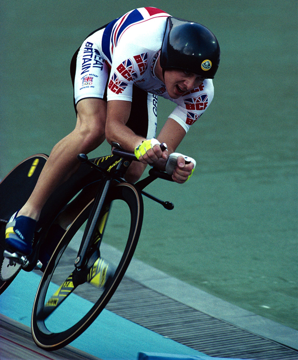 Remember this? Chris Boardman\'s world-beating Lotus pursuit bike ...