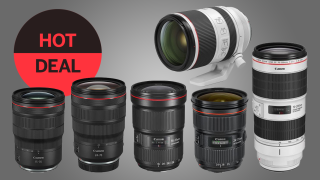 Save £125 on all Canon's EF and RF trinity zoom lenses