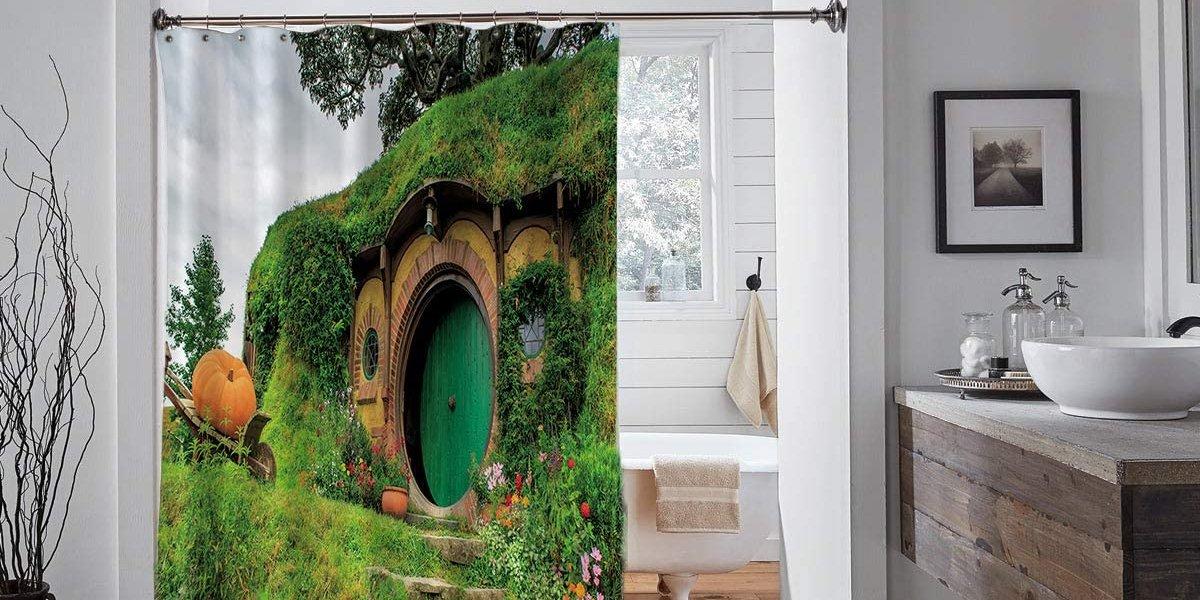 Hobbit Shower Curtain