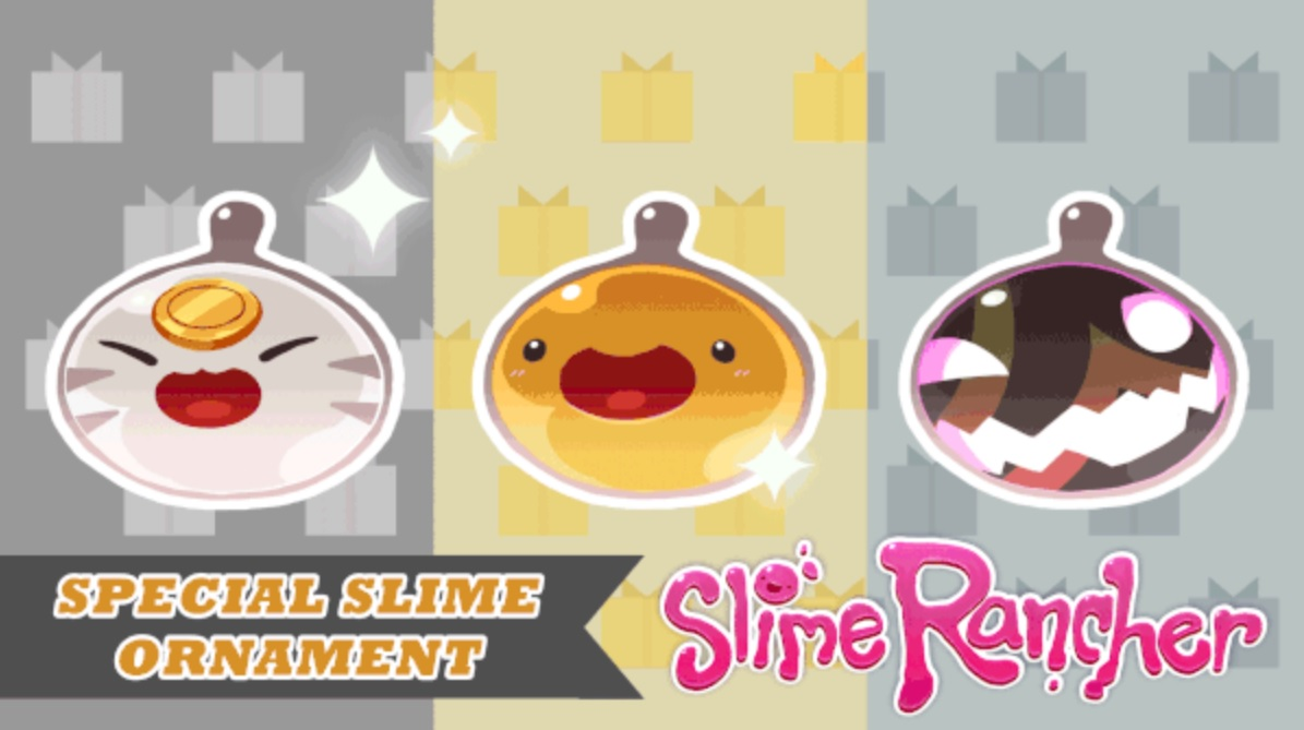 Slime Rancher's Wiggly Wonderland celebrates the holidays with in