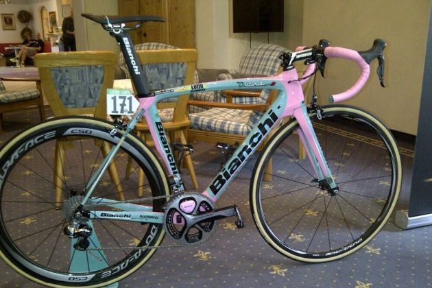 steven Kruijswijk giro d'italia pink bianchi
