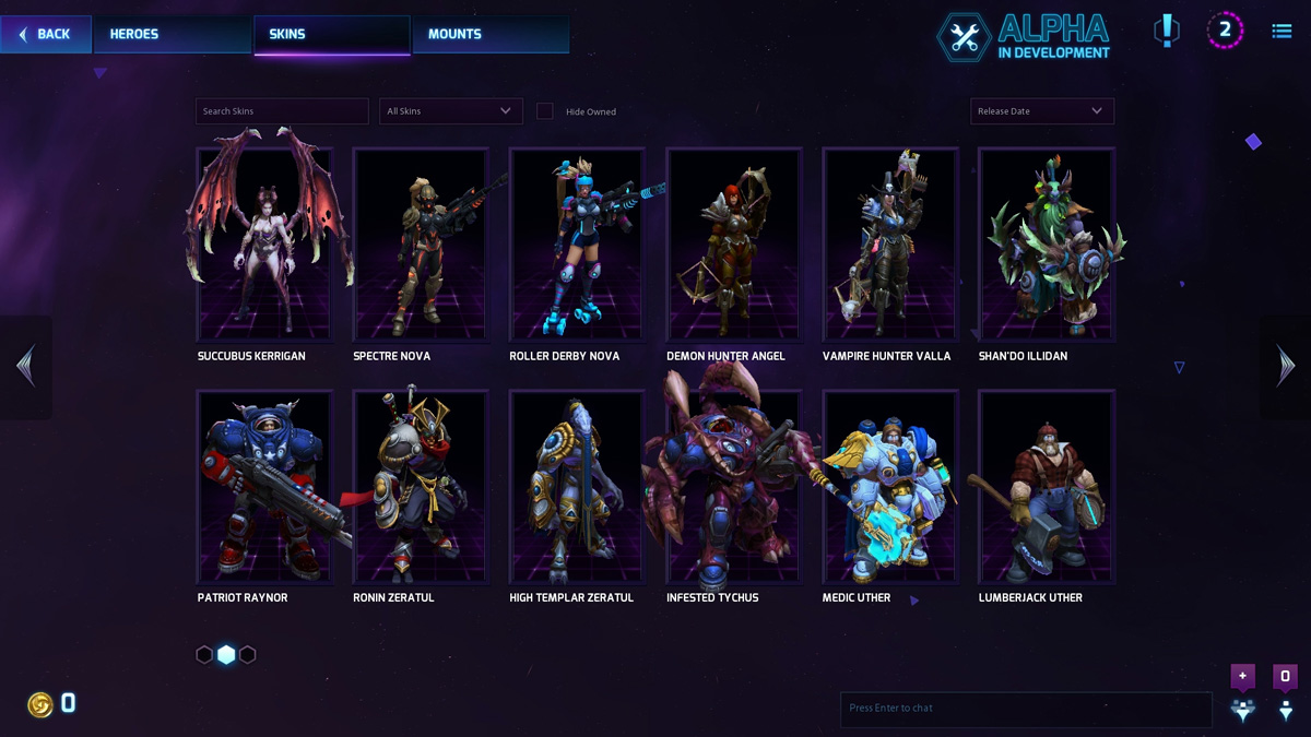 Heroes Of The Storm Alpha Test Begins, Progression System Revealed #30858