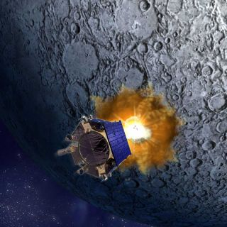 KAPOW! NASA Smacks the Moon in Search for Water Ice