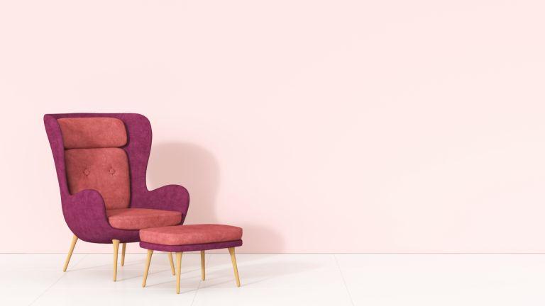 retro bright chair