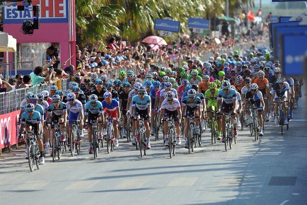 Giro D'Italia stage start